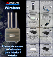 Catálogo BOSSLAN Wireless